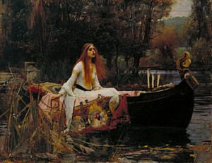 The Lady of Shalott by John W. Waterhouse