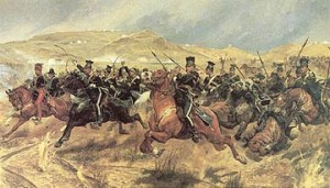 The Charge of the Light Brigade by Richard Caton Woodville Jr.