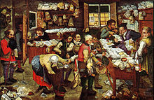 The Tax Collector (Pieter Brueghel the Younger)