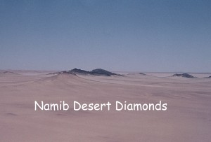 Aerial photo of Namid Desert north east of Oranjemund about 1968.